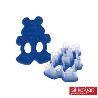 【silikomart】餅乾切模-熊(義大利製)
