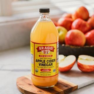 【統一生機】Bragg有機蘋果醋3件組(946ml/瓶/共3瓶)