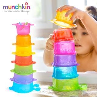 【munchkin】毛毛蟲疊疊樂洗澡玩具