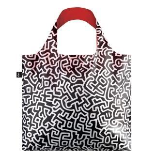 【LOQI】凱斯哈林 KHPL(購物袋.環保袋.收納.春捲包)