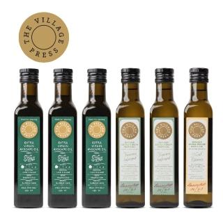 【壽滿趣- 紐西蘭廚神系列】黃金酪梨油x3/義式香蒜x2/地中海柑橘風味橄欖油(250ml六瓶量販裝)