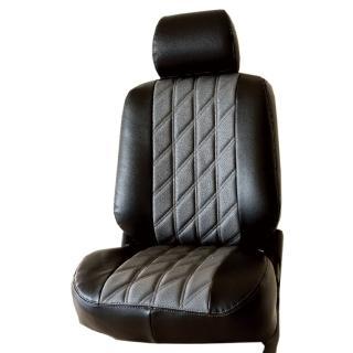 【葵花】量身訂做-汽車椅套-日式合成皮-開運格子-B款(休旅車-5-8人座款第1+2排)