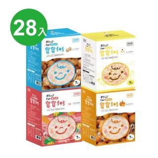 【農純鄉】人氣綜合組 寶寶粥 28入(豬肉+雞肉+干貝+南瓜)