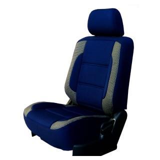 【葵花】量身訂做-汽車椅套-日式合成皮-賽車展翅型配色(雙前座-第一排)