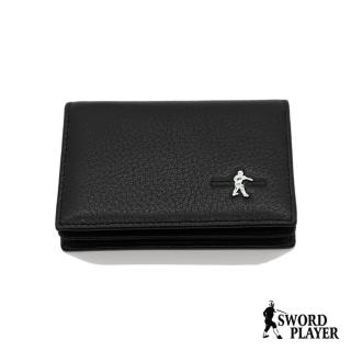 【SWORD PLAYER】經典牛皮名片夾(進口牛皮系列)