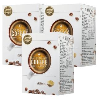 【COFFCO】蘇逸洪推薦世界發明金獎防彈黑咖啡*3盒(7包/盒*3)