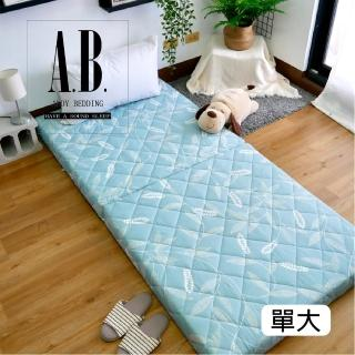 【AndyBedding】MIT兩用亞藤蓆鋪棉床墊-單人加大3.5尺(床墊、兩用床墊、亞藤蓆)