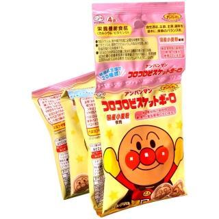 【不二家】麵包超人4連小餅乾(64g)