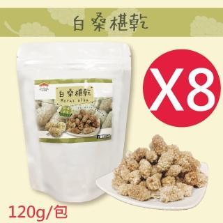 【五桔國際】土耳其白桑椹乾X8包入(120g/包)