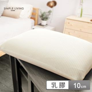 【Simple Living】加大型美國Latex Foam天然乳膠枕-一入(40x70cm)
