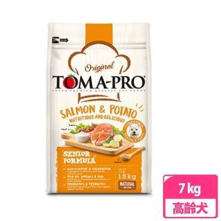 【TOMA-PRO 優格】高齡犬鮭魚配方 7kg(兩包)