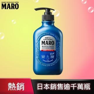 【MARO】終極秒感!全效沐浴乳-酷涼(400ml)