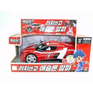 【機器戰士】TOBOT ALPHA 合金收藏車(男孩 機器人)