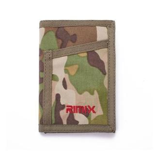 【RIMIX】三折式通勤軍用卡片零錢包 折疊包(2色可選)
