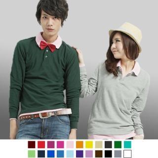 【男人幫】大東紡織布料 棉質網眼時尚POLO衫(P2168)