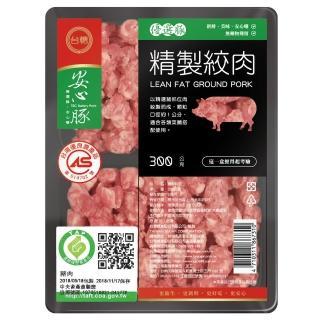 【鮮食家】任選799 台糖 低脂絞肉(300g/包)