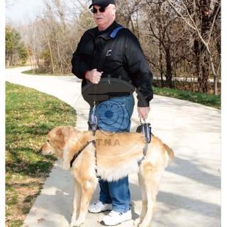 【SOLVIT】介護用品 SV367 藍色 寵物前後肢雙用輔助提拉助行帶L號(承重32-59kg)