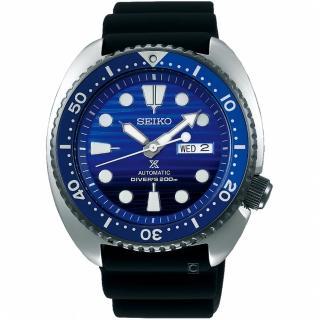 【SEIKO 精工】PROSPEX DIVER SCUBA潛水機械錶(4R36-05H0A  SRPC91J1)