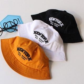 【PS Mall】兒童遮陽帽子純棉字母盆帽太陽帽(B013)