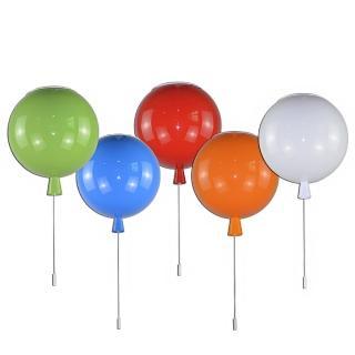 【華燈市】派對氣球吸頂燈-五色可選(繽紛童趣風)