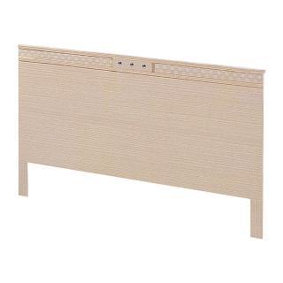 【AS】考伯特白橡5尺床片-153x30x90cm