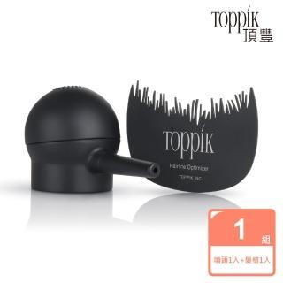 【頂豐Toppik】噴頭+髮線梳(超值組合)