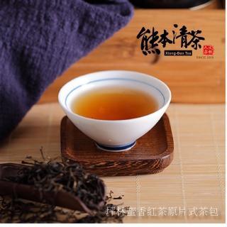 【熊本清茶】坪林典藏蜜香紅茶+文山包種原片式茶包共60入(產地直銷)