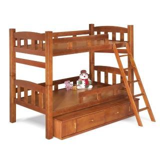 【H&D】凱特3.7尺雙層床架(3.7尺 床架 雙層床架)