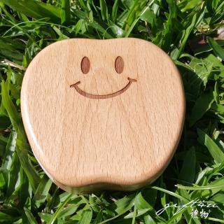 【gift4U 禮物+】台灣客製刻名兒童乳牙保存盒 中間微笑(乳牙盒 乳齒盒 兒童禮 小學生 成長紀念)