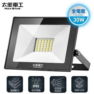 【太星電工】30W LED防水投射燈/白光(110V)