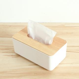 【三房兩廳】震撼價-橡木面紙盒-小(文創方形木蓋面紙盒/面紙盒)/