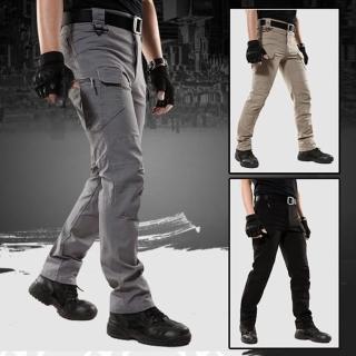【美國熊】3D立體剪裁 多口袋紮實面料 戰術褲 任務褲 工作褲(IX9-54)