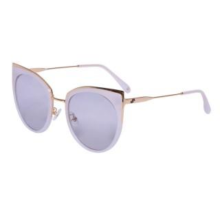 【VIVANT】愛戀系列金屬貓眼太陽眼鏡.牛奶白(AMOUR C4)