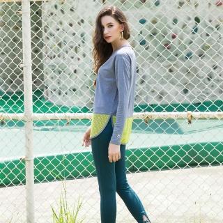 【8:AT】緊身長褲  M-XL(大洋綠)