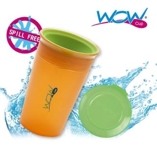 【Wow cup】美國WOW Cup Kids 360度透明喝水杯(橘色)