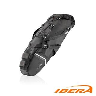 【IBERA】防水環島座墊包IB-SB18 / 城市綠洲(台灣製造、超大容量、自行車、腳踏車、防潑水)