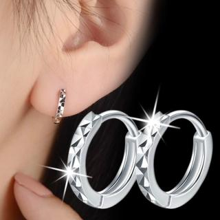 【梨花HaNA】韓國925銀簡約完美光芒圍繞耳環