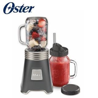 【登錄抽Dyson吹風機】美國Oster-Ball Mason Jar隨鮮瓶果汁機(一機二杯組)
