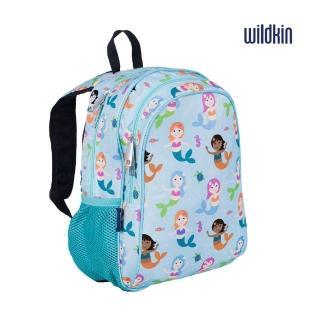 【Wildkin】兒童後背包/雙層式便利書包(14081小美人魚)