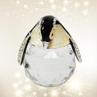 【三卡寶】企鵝(水晶擺飾)