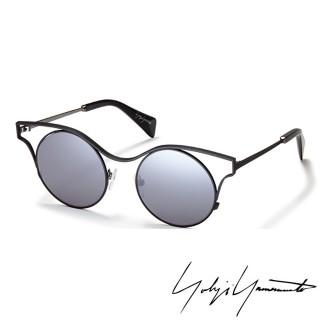 【Y-3山本耀司】Yohji Yamamoto 日式禪風美學圓弧經典太陽眼鏡(灰藍-YY7014-002)