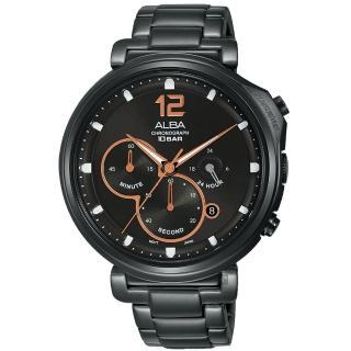 【ALBA】雅柏 Tokyo Design 原創酷時尚計時手錶-44mm(VD53-X302SD  AT3E05X1)