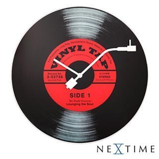 【歐洲名牌時鐘】NEXTIME-經典唱片時鐘《歐型精品館》(簡約時尚造型/掛鐘/壁鐘)