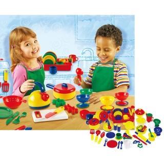 【Learning Resources】藍帶美食家 家家酒玩具廚房廚師烹飪 兒童房幼兒園(益智成長 邏輯建構 原裝進口)
