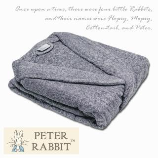 【PETER RABBIT 比得兔】比得兔 優質AB紗前漂浴袍(高質感專櫃精品)