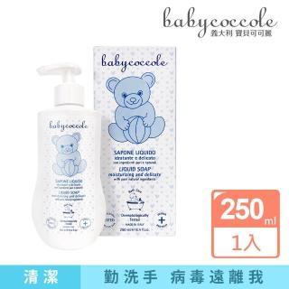 【Babycoccole 寶貝可可麗】潔淨護敏洗手乳 250ml(義大利製造原裝進口)