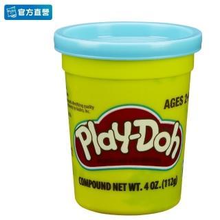 【PLAYDOH 培樂多】補充罐系列(無毒 單罐黏土4oz-粉藍色 B6756)