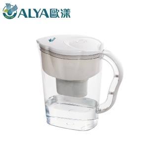 【ALYA 歐漾】科技濾水壺PI-02_含濾芯1只(濾水壺)