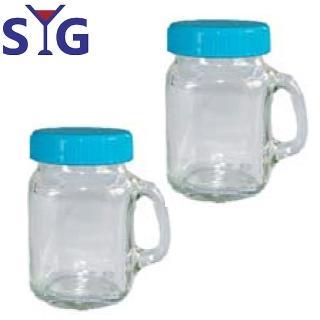 【SYG 台玻】療癒系玻璃小牛奶杯120cc(二入組)