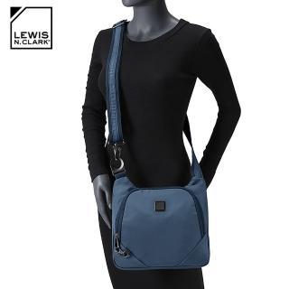 【LEWIS N CLARK】RFID屏蔽斜背包 5003(防盜錄、旅行包、美國品牌)